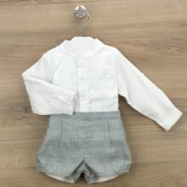 Conjunto ranita y camisa colección Malaga de BABIDU