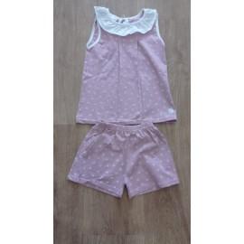 pijama dos piezas algodón BABIDU