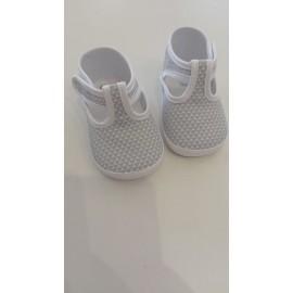 Zapato  de tela con velcro CAMBRASS