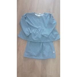 Conjunto de sudadera y falda topos PILAR BATANERO
